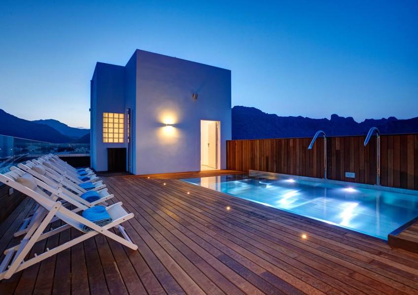 piscinas para áticos hotel