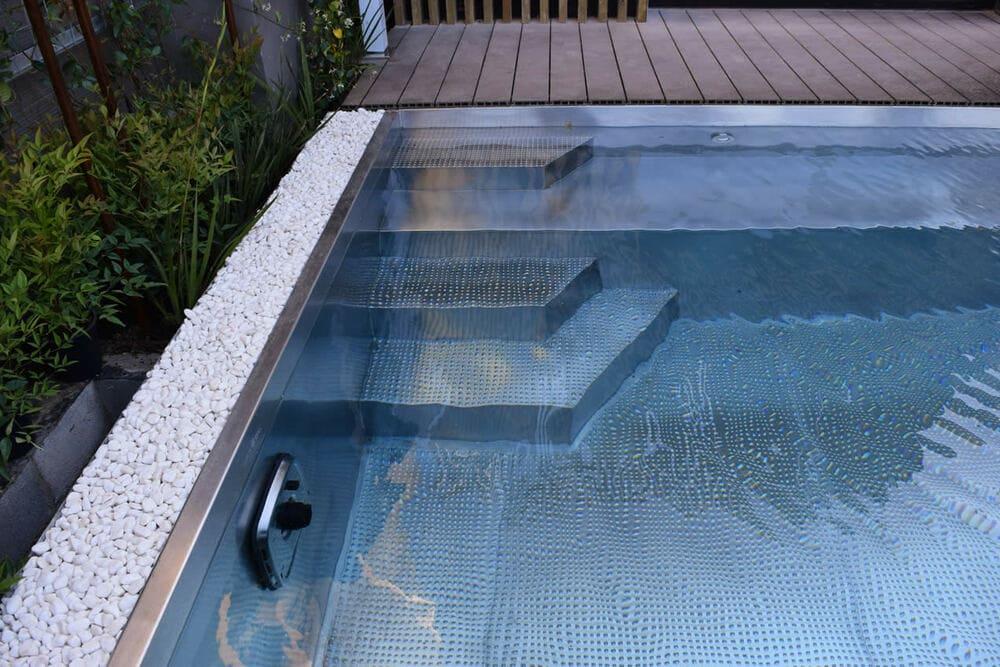 Acero inoxidable piscinas y spas