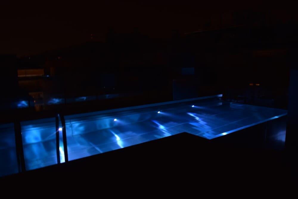 Iluminación de spas y piscinas a medida