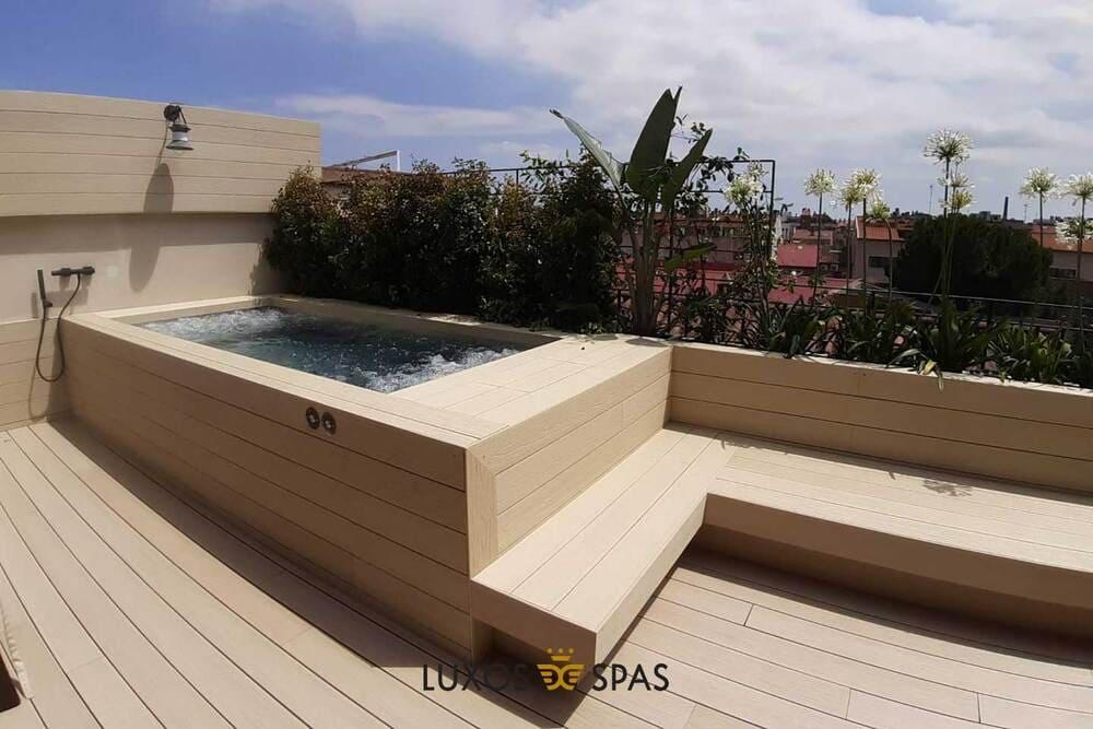 Piscina personalizada para terraza