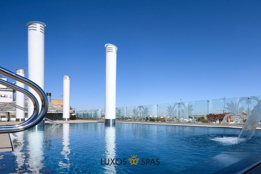 piscina publica de inox