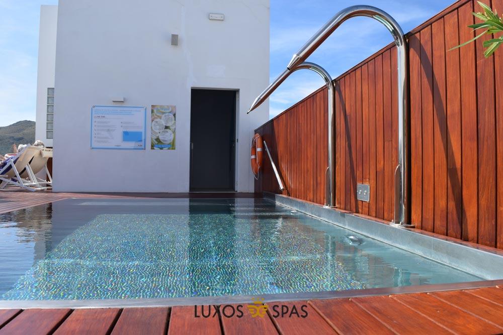 piscina inox para espacios públicos