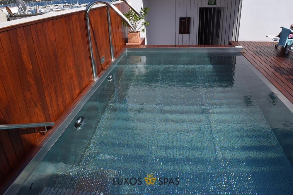 piscina inox para hotel
