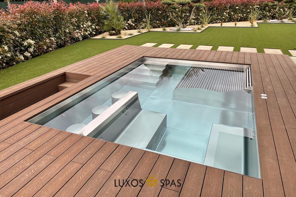 piscina inox portable